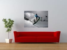SCOTTY LAGO SNOWBOARDING SNOWBOARD SKIING GIANT ART PRINT PANEL POSTER NOR0537