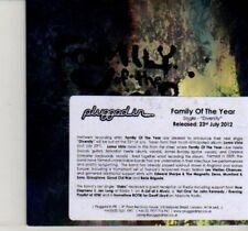 (DI391) Family of the Year, Diversity - 2012 DJ CD