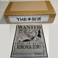 [USED] Ori Art The Wanted Poster 04 Zoro One Piece Toy BANDAI Japan
