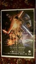 STAR WARS -THE FORCE AWAKENS  Original - ASIAN CINEMA  POSTER.28 X 40 INCHES
