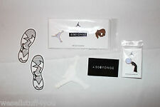 Nike Air Jordan Toronto 2016 All Star Game Pin Set 4 Pins 4 Stickers 306 Yonge