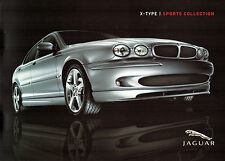 Jaguar X Type Sports Collection Bodystyling Kit 2005-06 UK Market Sales Brochure