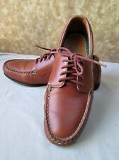Custom Made LEATHER OXFORDS.Womens 8B,Maine Classic,Pre-owned