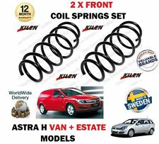 FOR VAUXHALL OPEL ASTRA VAN H 2.0 TURBO + 1.7 CDTI 2004- 2 X FRONT COIL SPRINGS