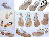 WOMENS/LADIES FLIP FLOPS SANDALS SHOES SUMMER BEACH SIZE THONG JELLY TOE POST
