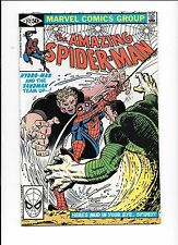 The Amazing Spider-Man #217 June 1981 Spidey head in UPC box on front cover