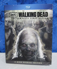 Walking Dead Blue Ray Special Edition Season 1 Best Buy AMC 3 Disc w/ Flyers