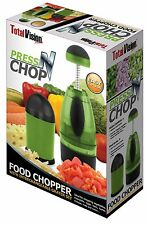 Press N Chop Food Chopper & Grater With Interchangeable Grater Set