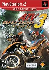 ATV Off Road Fury 3 (Playstation 2) Pro Re-Conditioned Disc Only
