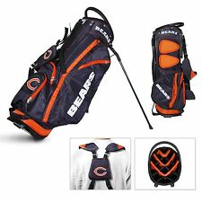 BRAND NEW Team Golf Chicago Bears Fairway Golf Stand Bag Navy/Orange 30528