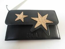 Sonia Rykiel Sonia Black Powder Star Flap Wallet NWT $130
