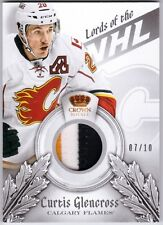 CURTIS GLENCROSS 2013-14 Crown Royale Lords 3 Color Jersey Prime Patch /10