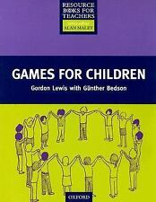 Games for Children (Resource Books for Teachers)-ExLibrary