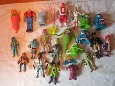 JOB LOT 20+ GHOSTBUSTER FIGURES ACCESSORIES FIGURES ALL DIFFERENT WOW