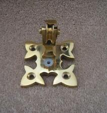 Antique Brass Lichfield Blanking Bell Pulley Traditional Antique Style UKAA