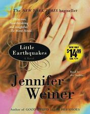 Little Earthquakes by Jennifer Weiner (2004, CD, Abridged)