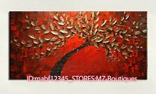 """YH751 40""""*20""""Hand painted Oil Canvas Wall Art home Decor Abstract TREE NO Frame"""