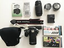 Canon EOS Rebel T5i Digital Camera w/ Lenses + Accessories ~$800+ Value