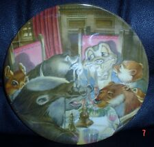 Wedgwood Collectors Plate WIND IN THE WILLOWS - THE BANQUET