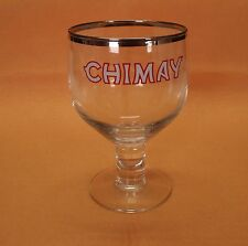 Chimay Belgian Ale Goblet Chalice Style 33 cl Beer Glasse