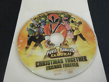 Power Rangers Samurai: Christmas Together, Friends Forever (DVD, 2012)