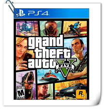 PS4 Grand Theft Auto 5 GTA V SONY Playstation Action Adventure Rockstar Games