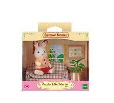 Sylvanian Families Figure & Furniture Set 5013 Chocolate Rabbit Father Set