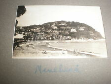 Old amateur photograph Minehead panorama c1930s Ref 5abc8