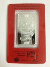 PAMP Suisse Dragon 2012 1 oz Silver bar # 016088, 016777, 016788, 017988 / 1 BAR