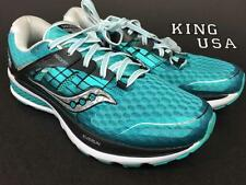 Women's Saucony Triumph ISO 2 Running Athletic Shoes Teal Size 8