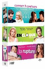 "Coffret 3DVD neuf sous blister ""EN CLOQUE MODE D'EMPLOI+THE HOLIDAY+LA RUPTURE"""