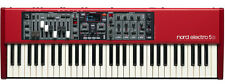 Nord Electro 5D SW61  61-Key Keyboard With Drawbars  5d 4D 3 61 With GIG BAG