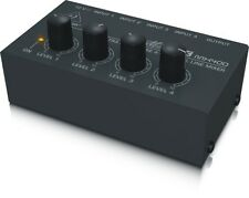 Behringer Micromix MX400 Ultra Low-Noise 4 - Channel Line Mixer / Amplifier