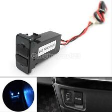 12V To 5V 2.1A Car Dual USB Port Dashboard Mount Phone Charger For Suzuki Auto