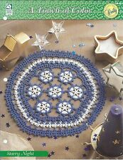 Starry Night Crochet Doily Pattern / A Touch of Color / HOWB Collector Series