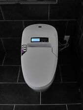 Intelligente-Toilette-Dusch-WC-Bidet-Beheizbare Klobrille-Massagefunkton