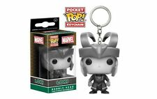 Marvel Loki B&W Funko Pocket Pop Keychain