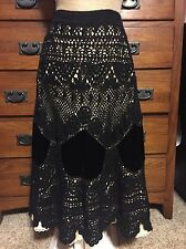 Anthropologie Crocheted Skirt IPSA X Small 2
