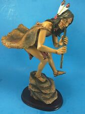 American Indian Collection - Trippies Statue - Sacred Song Indian Flute Player