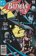 BATMAN : YEAR 3 ISSUES #436-439  (PARTS #1-4) COMPLETE SET WOLFMAN 1ST TIM DRAKE