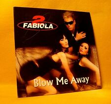 Cardsleeve single CD 2 Fabiola Blow Me Away 4TR 2008 Euro House