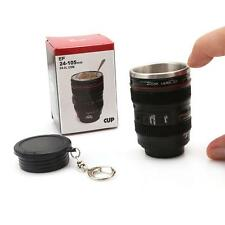 Hot Selling Mini Camera Lens Vodka Keychain Portable Cup Liquor Shot Glass Y