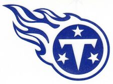REFLECTIVE Tennessee Titans fire helmet motorcycle hard hat decal sticker yeti