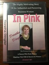 """""""In Pink"""" (Mary Kay) Audiobook CD/DVD by Doretha Dingler"""