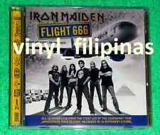 PHILIPPINES:IRON MAIDEN - FLIGHT 666 - THE ORIGINAL SOUNDTRACK,CD ALBUM,RARE!