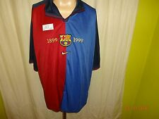 "FC Barcelona Original Nike Jubiläum Trikot 1899-1999 ""ohne Hauptsponsor"" Gr.XXL"