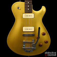 DEMO KNAGGS TIER 3 KENAI SINGLECUT CUSTOM ELECTRIC GUITAR GOLD TOP W BIGSBY TREM