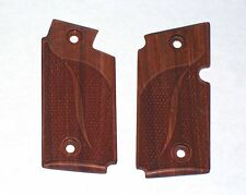 NEW Sig Sauer P238 Pistol Checkered Classic Red Tint Wood Grips 380 ACP #1952
