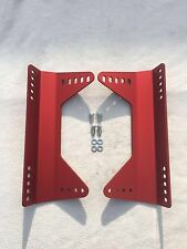 Bucket seat side brackets OMP/CORBEAU/SPARCO trackday,rally&race(1 Pair) & bolts