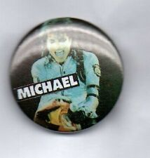 MICHAEL JACKSON  BAD , THRILLER BUTTON BADGE 80s POP - KING OF POP 25mm Pin